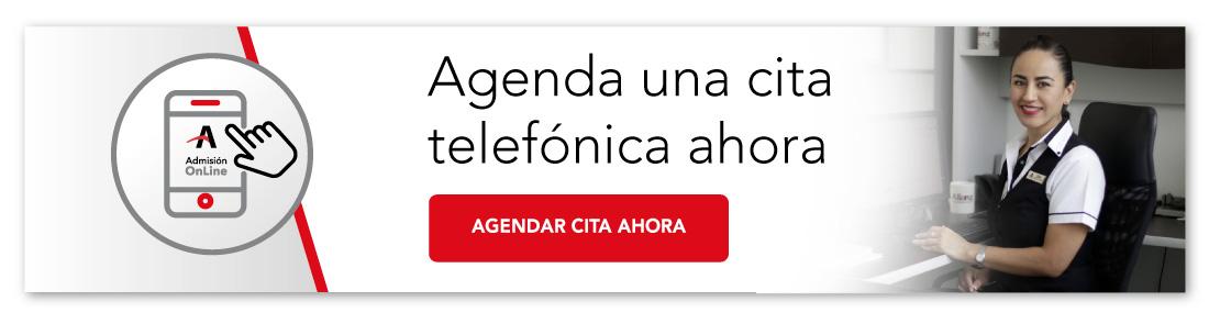 Agenda una cita telefónica ahora